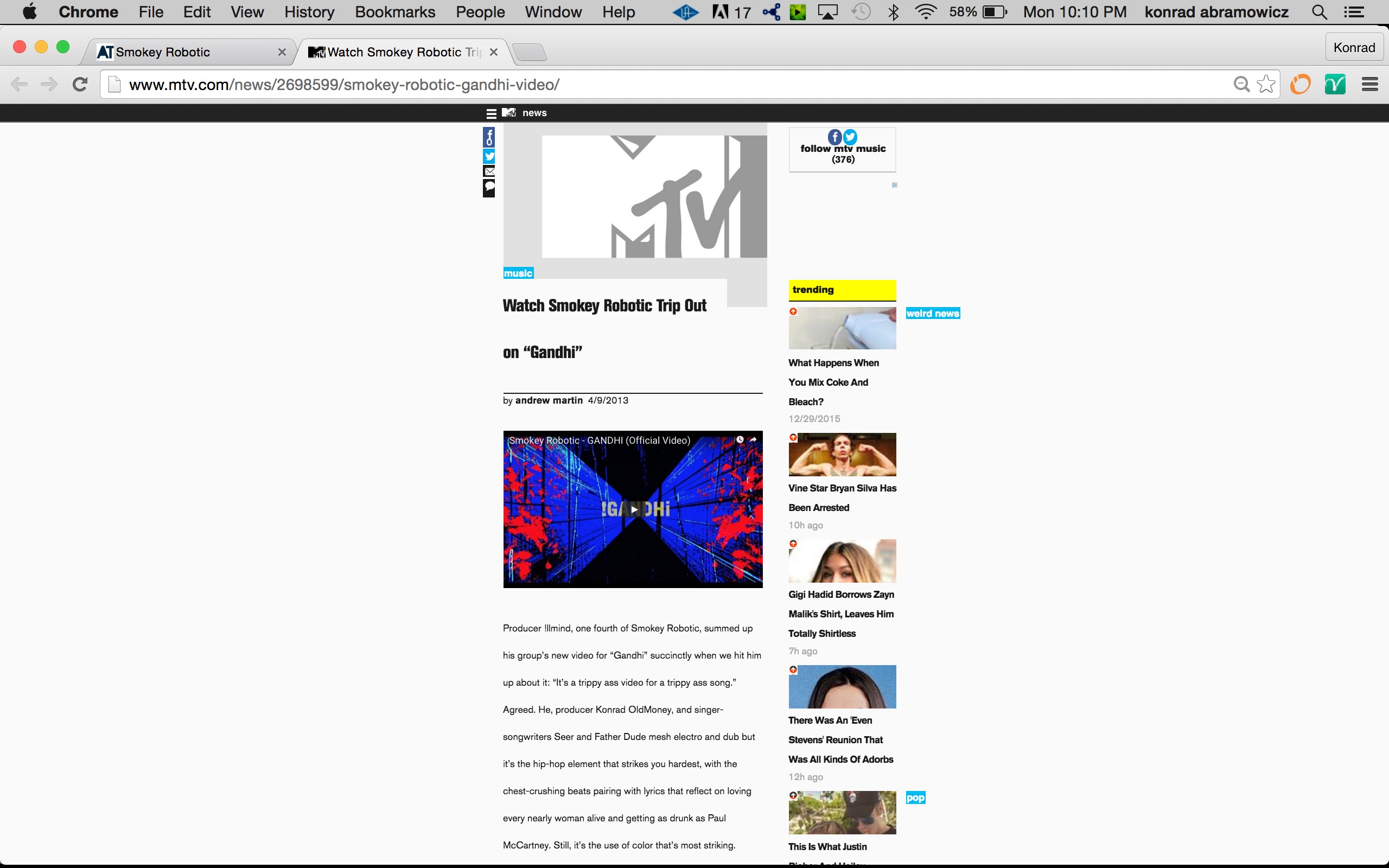 1 MTV