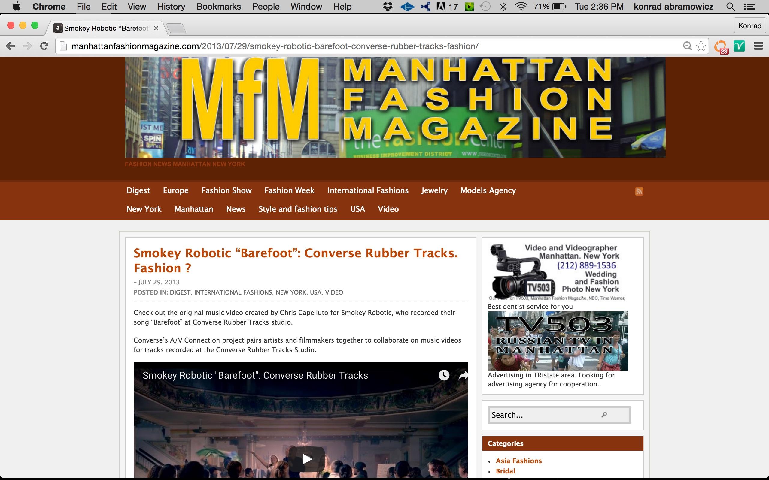 Manhattan Fashion Mag