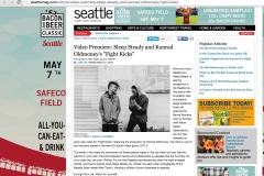Seattle MAG , FIGHT KICKS coverage