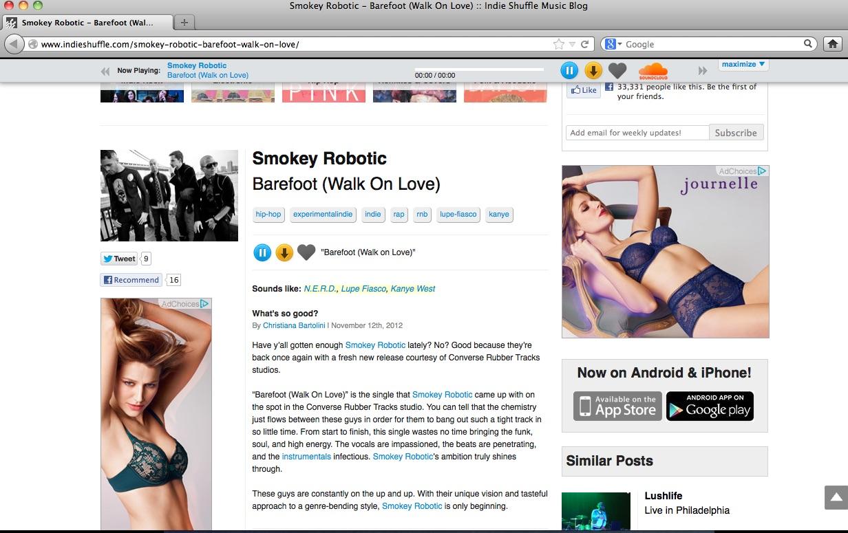 IndieShuffle_Barefoot_review